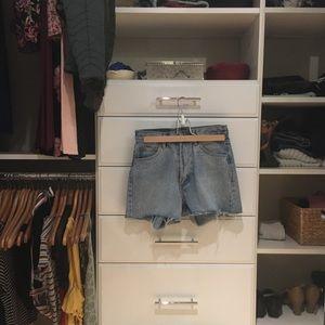 brandy melville charlotte denim shorts